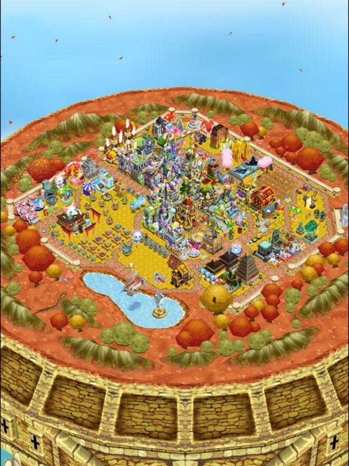 秋用タウンの様子