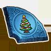 クリスマスツリーの石版