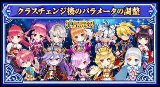 6月13日に 上方修正予定のキャラクター
